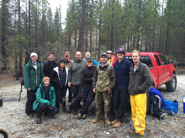 water assessment team at Malakoff Diggins