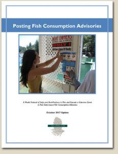 Posting Fish Consumption Advisories: A Model Protocol of Steps and Best-Practices to Plan and Execute a Volunteer Event to Post State-Issued Fish Consumption Advisories
