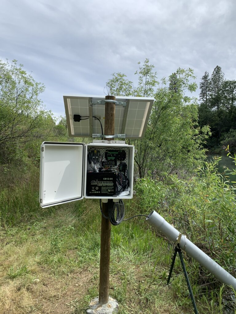 Real-time monitoring equipment
