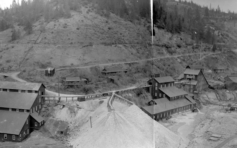 Historic photograph of Champion Mine