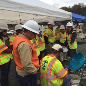 TSF board members at Combie Reservoir, December 8, 2014